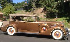 1937 Packard Sport Phaeton