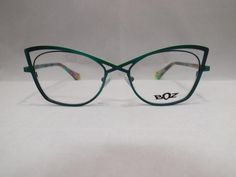 The stylish, sensual and gorgeously colored frames of the BOZ eyewear collections bestow originality and elegance on the women who wear them. Exploring cultural mixes and the influence of plants, the brand makes its mark using contemporary and original themes. Manufactured in France. 52-16-140 Color 4945 (Two Tone Green) Metal Frame