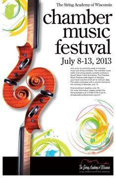 Chamber-Music-Festival-poster-2013 Festival Posters, Concert Posters, Music Posters, Musikfestival Poster, Name Card Design, Music Week, Music Logo, Advertising Design, Classical Music