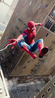 Photo from :SuperHeroes Fandom Spider Man Spider-man: Homecoming Avengers: Infinity war Avengers: Endgame Films Marvel, Marvel Comics, Marvel Art, Marvel Heroes, Marvel Characters, Marvel Cinematic, Amazing Spiderman, All Spiderman, Spiderman Pictures