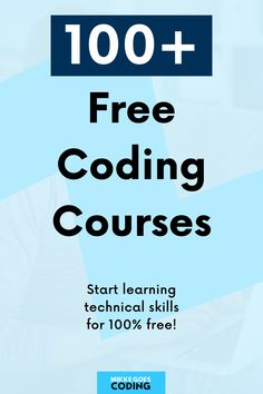 Don't miss this master list of 120+ absolutely free online courses and tutorials for learning computer programming, coding, and web development from scratch. If you want to learn to code and start a tech career or become a freelance web developer or web designer, this guide is perfect for you! What are you waiting for? Start learning right now! #mikkegoes Online Programming Courses, Learn Programming, Computer Programming, Online Courses, Learn Html, Learn To Code, Free Coding Courses, Learn Coding Online, Coding Tutorials