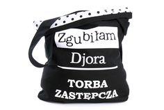 Zgubiłam Djora Torba Zastępcza Czarna w Bajaga Studio na DaWanda.com