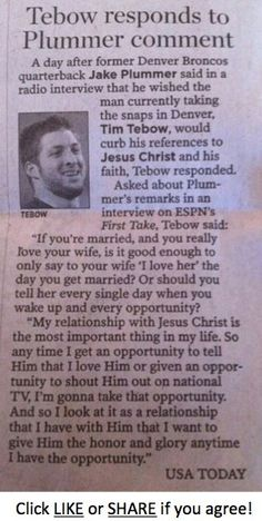 Tebow~why is it that he is not entitled to his opinions? The very people who preach tolerance are the ones complaining about this!