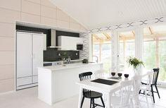 Arkki valkolakattu keittiö