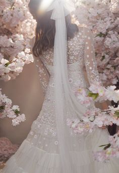 Discover our new bridal collection, 'Fallen For You', featuring tiered ruffle wedding gowns, embellished wedding dresses and soft ombre ballerina length skirts. Needle And Thread Bridal, Needle And Thread Dresses, Bridal Gowns, Wedding Gowns, Wedding Outfits, Wedding Veil, Bridal Headpieces, Traditional Gowns, Tulle Bows