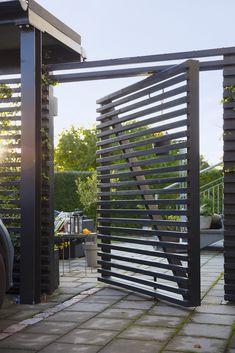 Malin Wollin - Part 6 Backyard Plan, Backyard Patio, Backyard Landscaping, Rooftop Terrace Design, Outside Furniture, Garden Inspiration, Garden Design, Pergola, Gardens