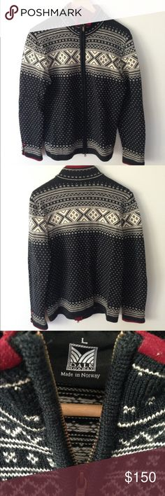 Dale of Norway wool zip sweater. 100% wool. Great condition. Smoke-free home. Dale of Norway Sweaters Cardigans