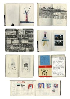 Great article on Rose Blake's sketchbooks on Anthology!  Series of interviews with artists about their sketchbooks- inspirational