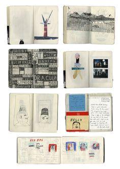 Rose Blake sketchbooks