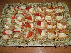 Smak Zdrowia: Kanapeczki mini-mini Mini Mini, Sushi, Ethnic Recipes, Food, Essen, Meals, Yemek, Eten, Sushi Rolls