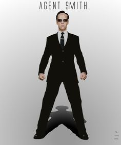 agent smith suit