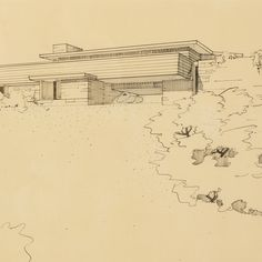 Frank Lloyd Wright presentation of the Walter L. Fisher Memorial Chapter House, Hanover, Indiana