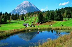 Golf at the Austrian Alps #travelnote #travel #traveling #alps #golf #traveler #trip #tourism #austria #holiday #vacation #relax