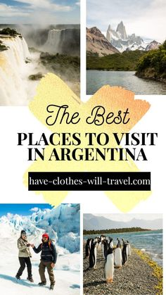 I was fortunate to have lived in Argentina. This post is sharing some of the most amazing places to visit in Argentina. From the sizzling tango performances in Buenos Aires to the icy glaciers of Patagonia to the decadent wine region of Mendoza. Argentina is a massive country that has something to offer everyone. | things to do in argentina | places to visit in argentina | argentina travel | argentina travel places to visit Cool Places To Visit, Places To Travel, Travel Destinations, Vacation Places, Vacation Ideas, Vacations, Visit Argentina, Argentina Travel, Machu Picchu