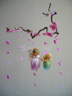 diy fairy mobile steiner waldorf felt - Google Search