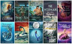 Book Covers featuring Mermaids Mermen | books, reading, books covers, cover love, mermaids, mermen