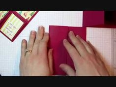 Julie's Stamping Spot -- Stampin' Up! Project Ideas Posted Daily: VIDEO & PDF: Quarter Fold Card Tutorial