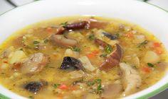 Постный суп с фасолью и клецками – рецепт с фото