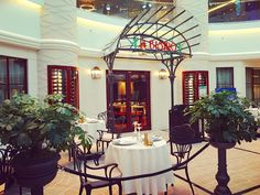"""""""⚓Le Bistro on Norwegian Escape⚓ .   The French Cuisine Speciality Restaurant is located at the 678 Ocean Place on Deck 6 - there is no cover charge,…"""""""