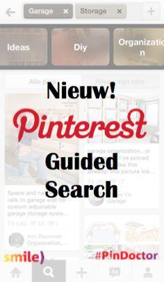 Nieuw van #Pinterest: Pinterest Guided Search. Blog door Suzanne Wartenbergh