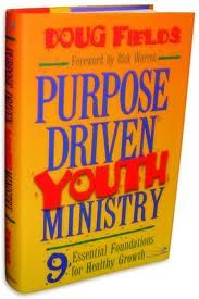 Purpose Driven Youth Ministry. First youth ministry class I had to read this book. :)