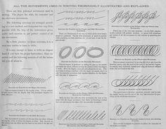 <b>Spencerian Script</b> taken from Real Penwork