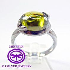 anillo de plata de liz dulce por MinervaSilverJewelry en Etsy