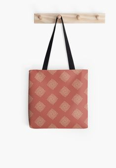 Earth Medallion, a quiet simplistic design in warm colours Warm Colors, Colours, Poplin Fabric, Sell Your Art, Cotton Tote Bags, Wall Tapestry, Shopping Bag, My Design, Stuff To Buy