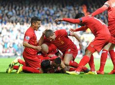 HALF-TIME: Another relentless half of football earns the Reds a two-goal advantage at the break #LFC 2-0 #MCFC