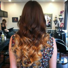 my friend kerries beautiful new ombre hair!