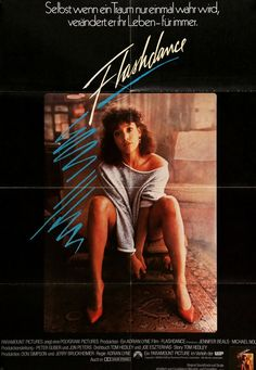 Flashdance (1983) Original German Movie Poster