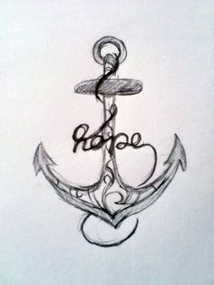 Hope Anchors The Soul Tattoo For Men anchor tattoo - i like this one ...