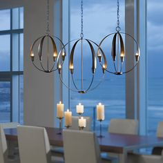 Cirque Chandelier by Hubbardton Forge at Lumens.com