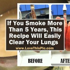 Learn how to make this recipe to help detox your body and clear out your lungs.