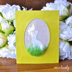 Sizzix Tutorial | Easter Bunny Decoration by Laura Russell