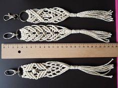 Keychain Boho Makrame Accessories Bags Valentine's Day