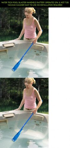 Water Tech Pool Blaster Handheld Battery Operated Spa & Hot Tub Vacuum Cleaner Easy to Use No Installation Required Hot Tub Vacuum, Handheld Vacuum Cleaner, Battery Operated, Tubs, Pools, Gadgets, Spa, Racing, Technology