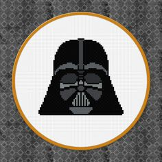Darth Vader Star Wars Digital PDF Cross by AmazingCrossStitch
