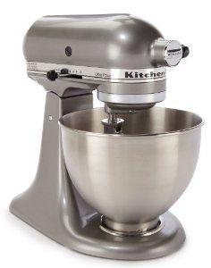 Amazon.com: Kitchen Aid 4.5-Quart Tilt-Head Stand Mixer Silver: Kitchen & Dining