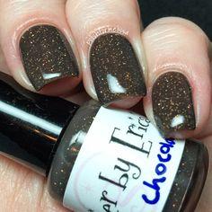 Dark Chocolate handcrafted artisan nail polish