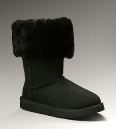 UGG Tall Classic 5229 Black Boots