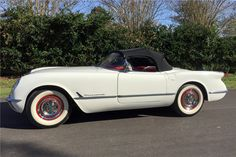 """For sale at auction: This is one of the most famous 1953 Corvettes, being Number 300 of 300 built, often referred to as """"the last of the hand-built Corvettes."""" The car was assemb..."""