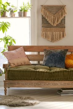 Magical Thinking Rohini Velvet Daybed Cushion - Urban Outfitters