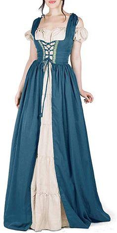 Homme Bleu Azur médiévale Royal Knight COSTUME ROBE FANTAISIE