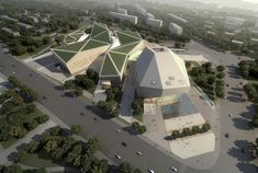Gallery of Huaihua Theater and Exhibition Center Proposal / United Design Group - 6