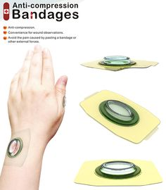 Anti-compression Bandages by Ya-Chuan Ko & Chi-Hung Lo - The Anti-compression Bandages has been designed on the lines to help ease out the pain thanks to an external compression integrated within the bandage. It even allows paramedics to monitor the wound safely. Read more at http://www.yankodesign.com/2014/02/20/the-pleasure-pressure/#921HHWEttAs3IFWf.99