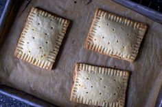 Homemade Pop Tarts  sugar  (1 tablespoon)   jam  ( 3/4 cup (8 ounces)   cornstarch mixed with 1 tablespoon cold water  (1 tablespoon)   ground cinnamon, to taste (1 to 1 1/2 teaspoons)   all-purpose flour  (4 teaspoons)   all-purpose flour  (2 cups (8 1/2 ounces)   milk  ( 2 tbls) (1 ounce)   unsalted butter, cut into pats (1 cup (2 sticks / 8 ounces) )   large egg  ( 1 )   brown sugar  ( 1/2 cup (3 3/4 ounces)   salt  (1 tsp)   additional large egg (to brush on pastry)
