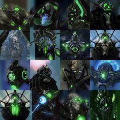 Starcraft, Character Portraits, Imagination, Dark, Inspiration, Image, Devil, Biblical Inspiration, Fantasy