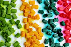 coloured pasta without using alcohol