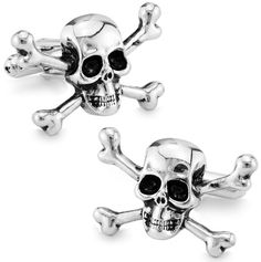 High quality metal Skull Cuffliks make old men's Cuff Links + Free Shipping !!! metal buttons //Price: $29.97 & FREE Shipping //     #Jewelry